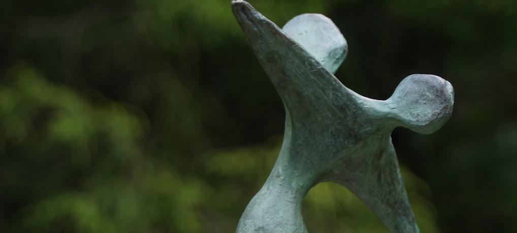 Bronzen danspaar