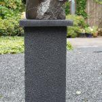 Torso, in steensoort Ocean Black 45 cm hoog. (2015)